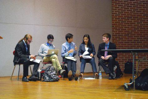 JSA hosts democrats v. conservatives debate