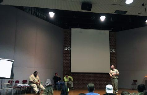 SADD hosts Grafton prisoner meeting