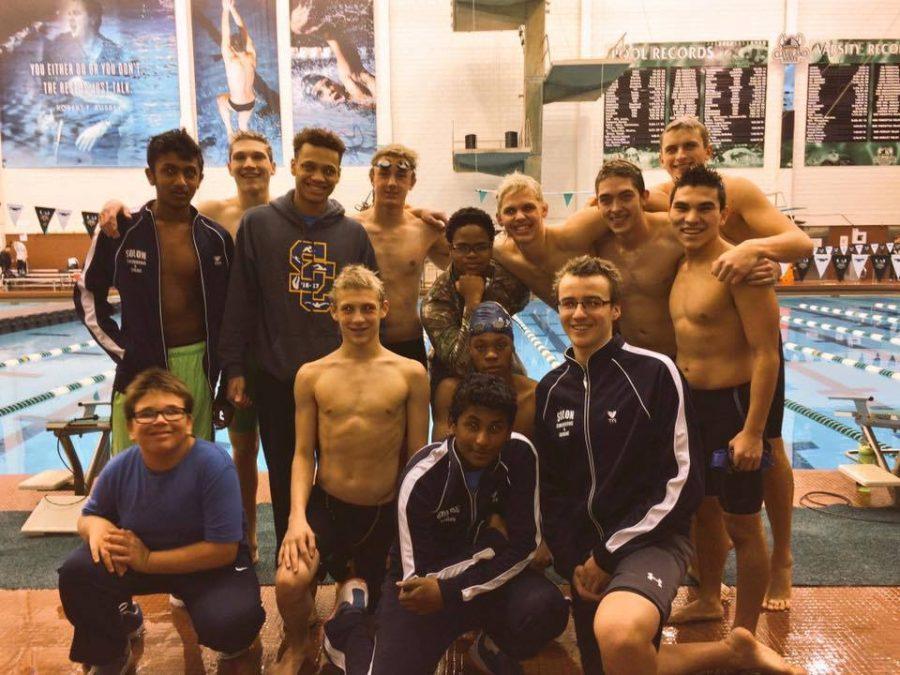 SHS swim team en route to Districts