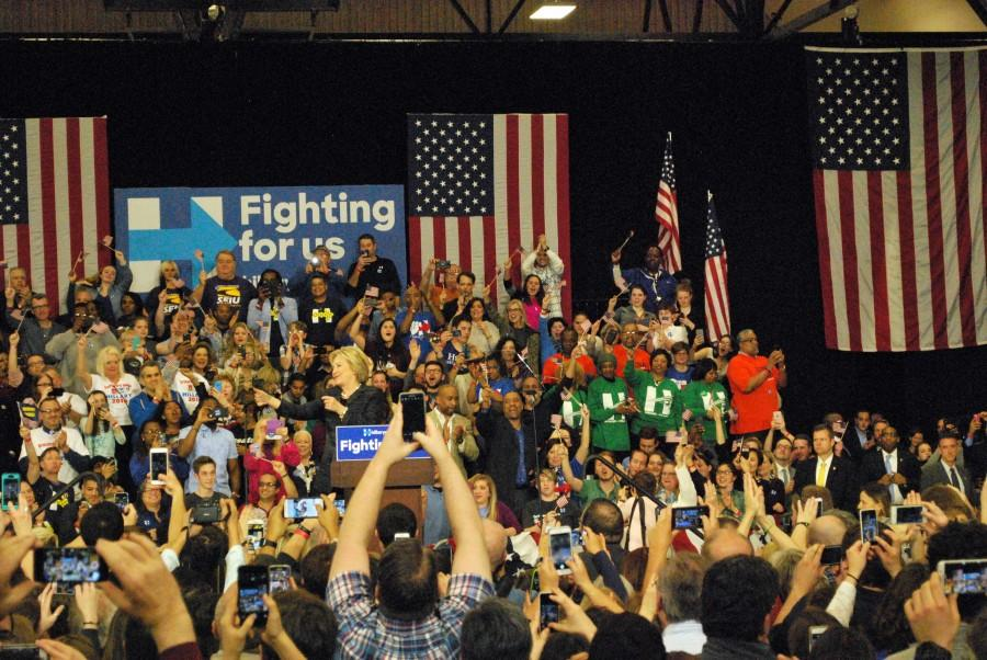 Image result for hillary clinton AND Ohio rally pictures