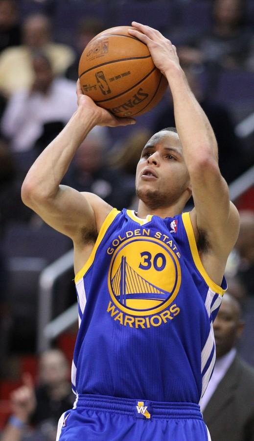 Stephen Curry of the Golden State Warriors is an early favorite for NBA MVP this season.