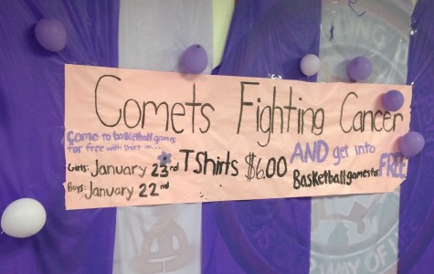 Comets Fighting Cancer connects with basketball teams to raise awareness