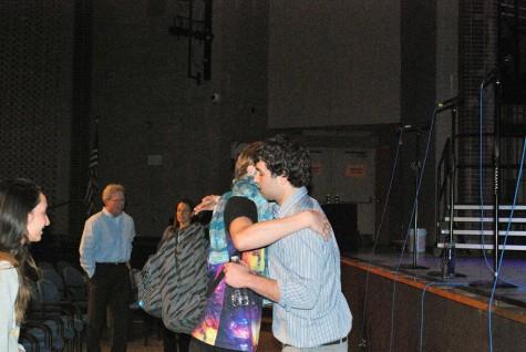 Spitaleri embraced Webster after an emotional conversation.