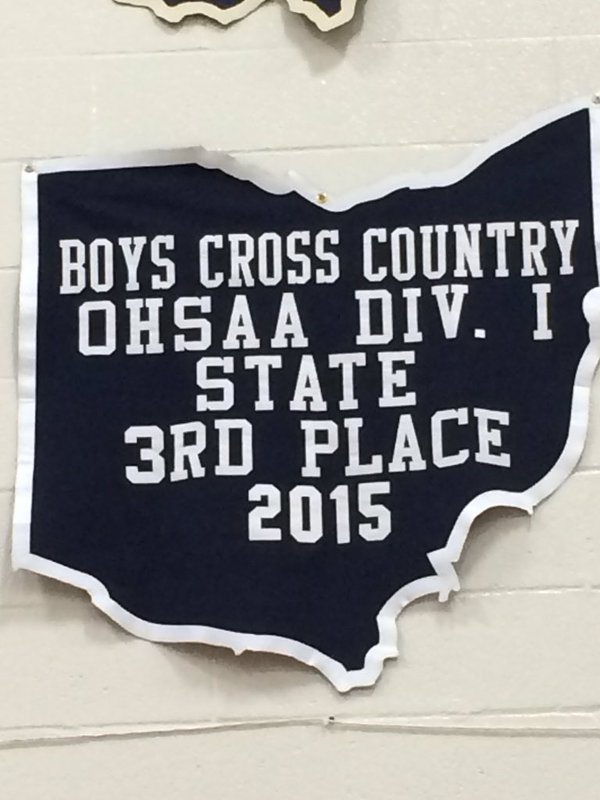 The boys cross country team finished in third place at States last year, and are currently the favorites to win it all this season.