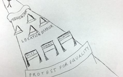 High school students have right to protest, too