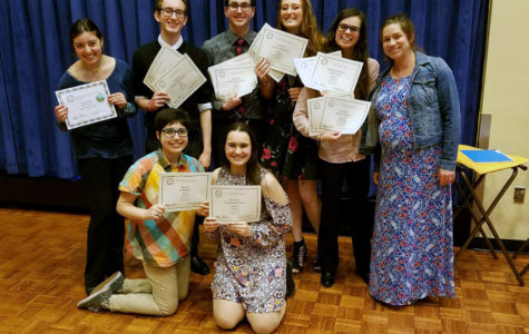 Courier staff wins big at Ohio Scholastic Media Association Convention