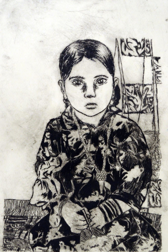 Ramneet+Kaur%E2%80%99s+mother+was+the+inspiration+for+her+award-winning+etching