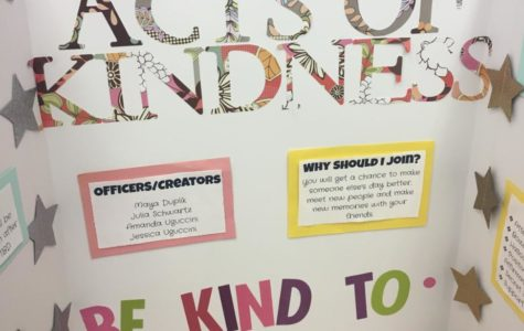 Random Acts of Kindness gives all students a way to spread love and kindness around the school.