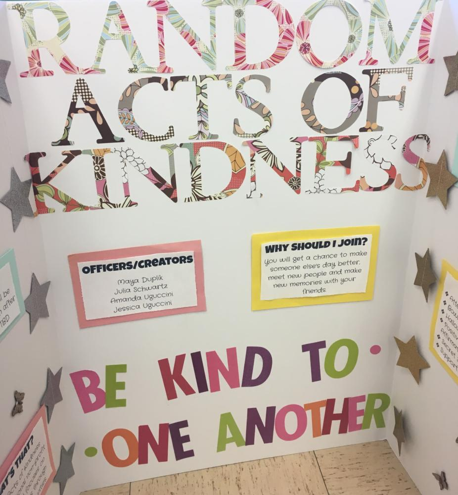 Random+Acts+of+Kindness+gives+all+students+a+way+to+spread+love+and+kindness+around+the+school.