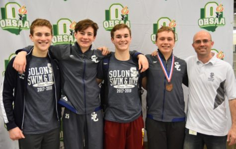 Boys diving team makes a splash at states