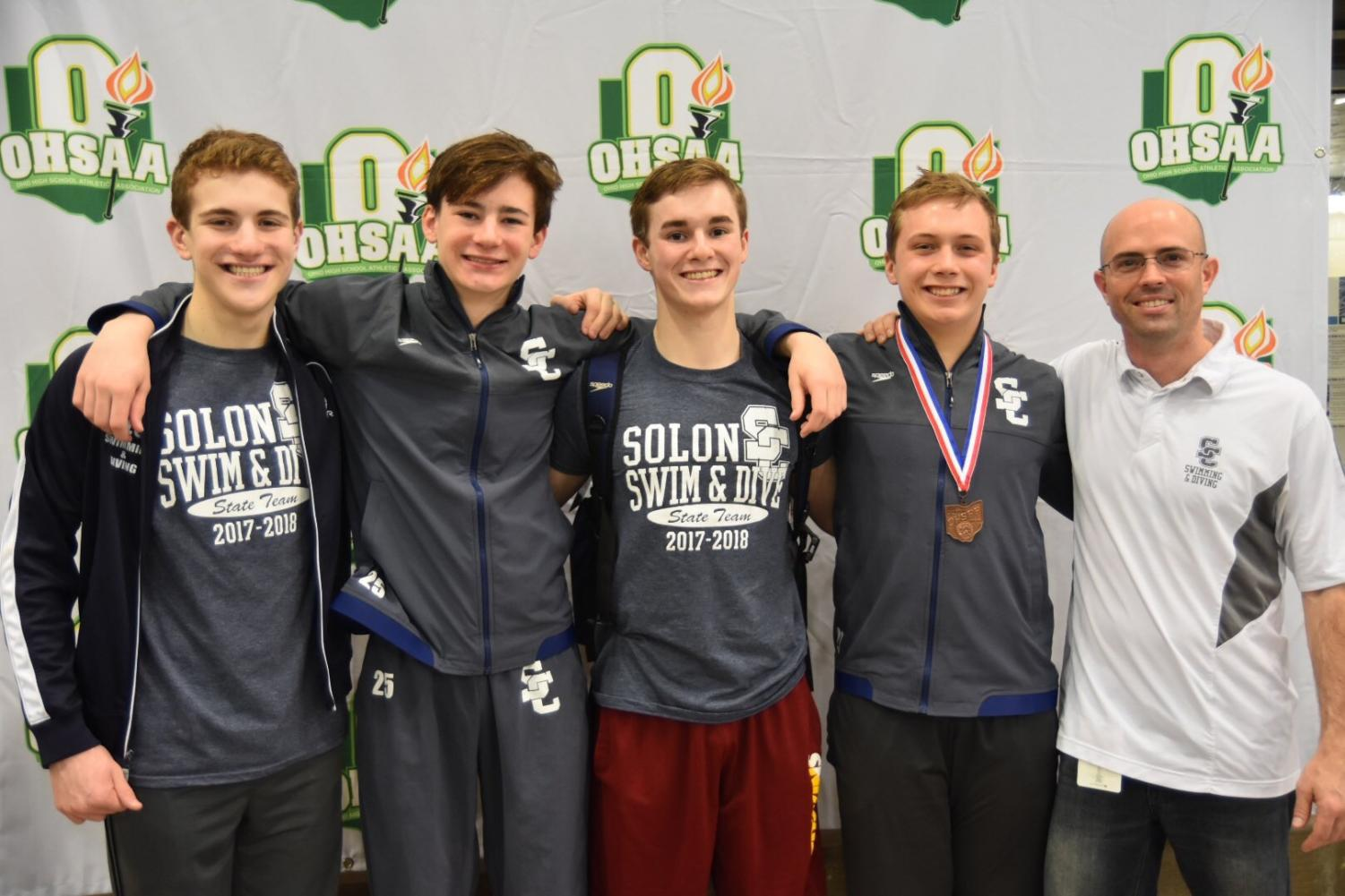 All four boys from SHS finished in the top 16 at states.