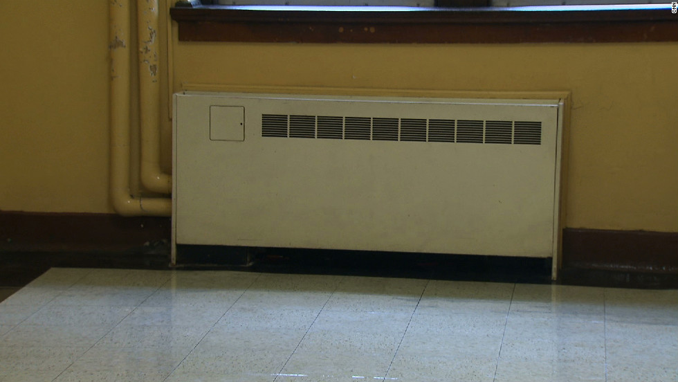 One of the new air conditioning units in SHS. Photo taken by Alex Lavine.