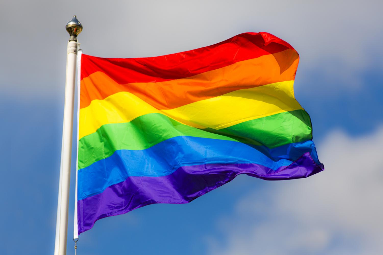 Rainbow flag. Photo credit: http://www.oxbridgeapplications.com/kyc/oxford-rainbow-flag-lgbt-history-month/