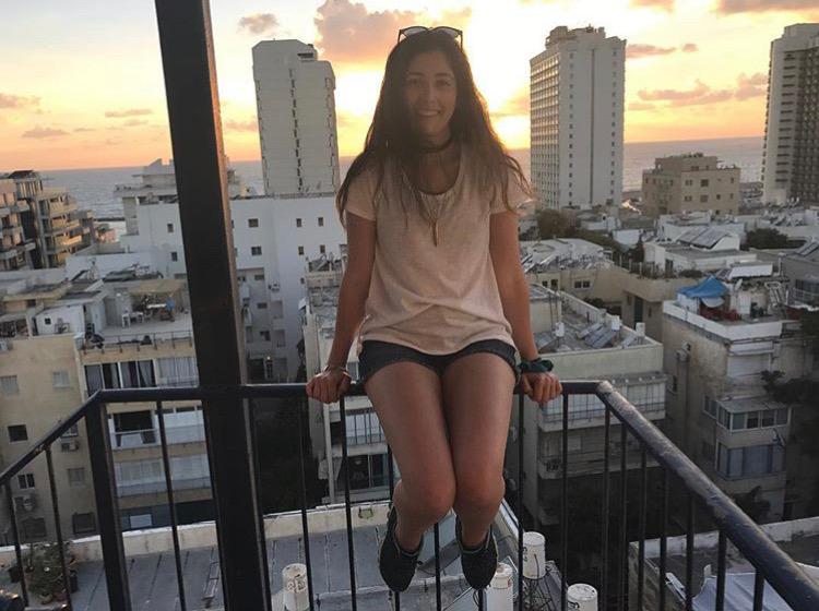 Mika+Cronin+in+Israel.+Photo+taken+By+Roni+Pegel.