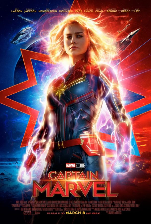 %22Captian+Marvel%22+movie+poster.+Courtesy+of+IMDb.