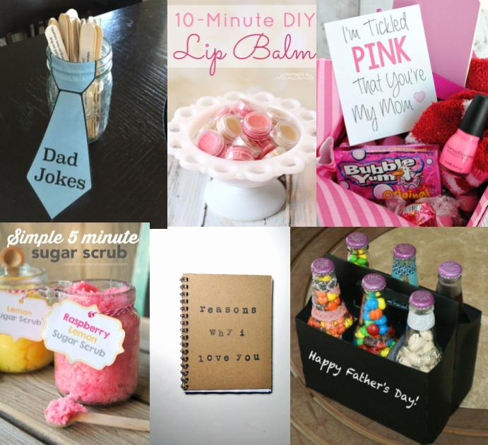 Six super easy DIY gifts for your parents