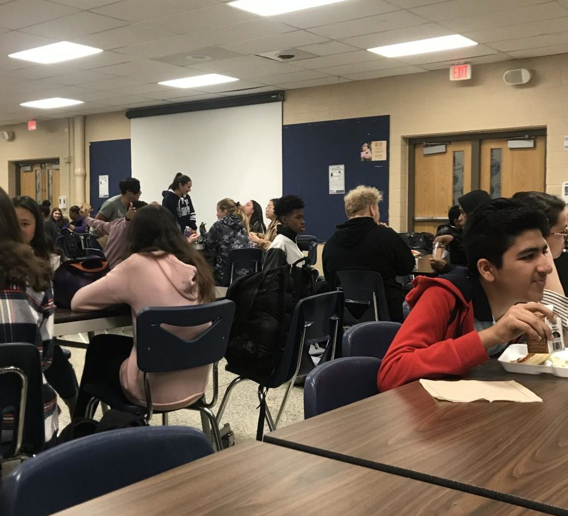 Picture of SHS cafeteria taken by Ellis Smith.