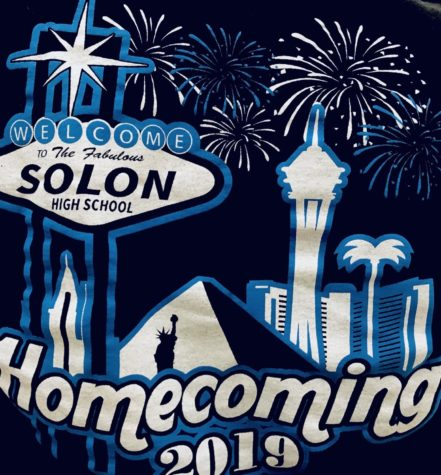 The back of the SHS 2019 Homecoming shirt. Picture taken by Noi Sandlers.