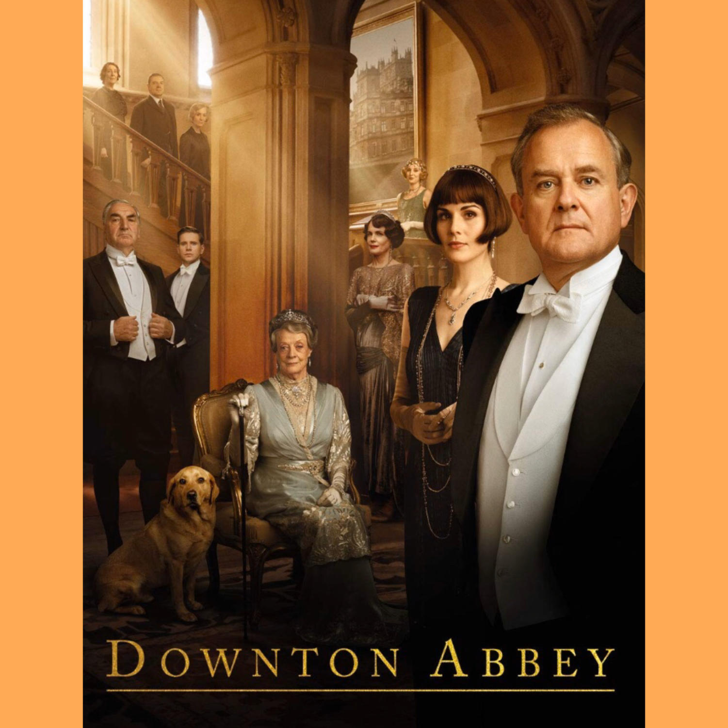 The 2019 Movie Cover of Downton Abbey