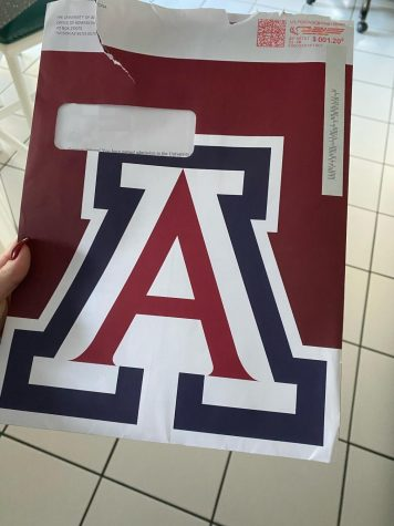 A Solon senior getting accepted into The University of Arizona