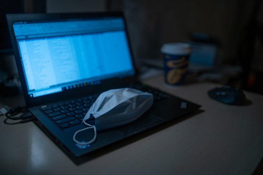 Virtual learning during COVID-19. Photo courtesy of Dimitri Karastelev on Unsplash