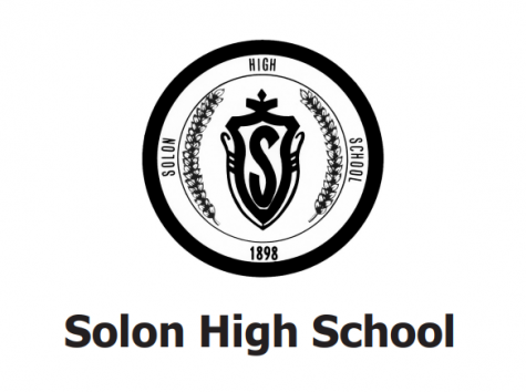 Solon High School Logo on Program of Studies Courtesy of Hannah Levenson