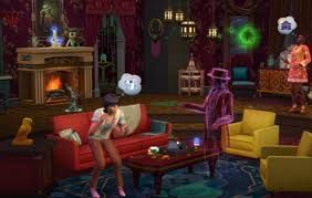 Image of Sims 4 with paranormal stuff pack