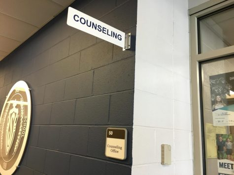 SHS's counseling office.